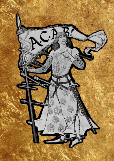 Jeanne d'Arc, after Eugène Grasset