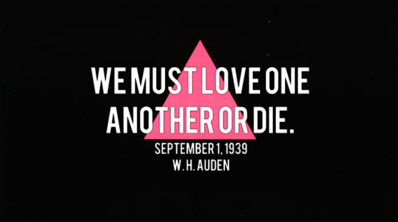We Must Love One Another Or Die